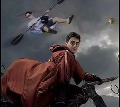 If u love Harry Potter, then who is the character behind him?
