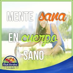 """""""Mente sana en cuerpo sano"""" #FraseDelDía #Motivación"""