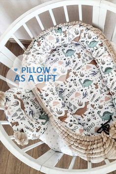 The baby nest by AllbrightKid will become your reliable assistant for newborns. Put it in a crib, in a parent's bed, so that the baby is always with you, or wherever you need it, as this is a separate full-fledged sleeping place for your small angel. It is reliable, has the optimal size, soft and beautiful. Cute Blankets, Baby Nest, Minky Baby Blanket, Baby Makes, Handmade Baby, Cribs, Baby Gifts, Pillows, Newborns