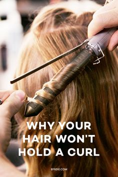 how to make your hair hold a curl