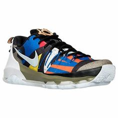 Nike Mens KD 8 All Star Basketball Shoe 829207 100 White/Silver/Black/Multicolor #NikeAir