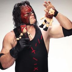 """Kane 1st Edition 10"""" Bleacher Creature - WWE This picture makes me so happy, and I don't know why :-D"""