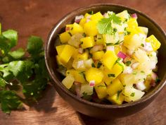 All it takes if 5 minutes of preparation to create this easy mango salsa recipe. It is the perfect healthy side to any main course meal.