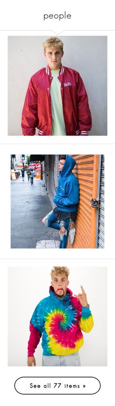 """people"" by sbm-123 ❤ liked on Polyvore featuring outerwear, jackets, crew jacket, satin jackets, white jacket, blue jackets, ppl, dolan twins, dolans and people"