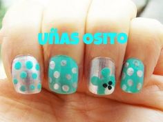 Uñas osito (muy facil) Easy, Nail Art, Nails, Videos, Google, Molde, Nailed It, Nail Designs, Fingernail Designs