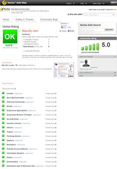 Scanned with Norton SafeWeb. Result: FB Purity is Safe.    Clean up and Customise Facebook with FB Purity: http://www.fbpurity.com