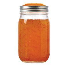 Orange Jelly/Jam Lid