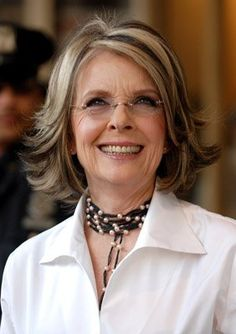 """Famous Introvert:Diane Keaton she is incredibly talented and funny without the """"look at me! look at me!"""" so many celebrities have Diane Keaton Hairstyles, Dianne Keaton, Middle Aged Women, Hollywood, Aging Gracefully, Famous Women, Famous People, Beautiful Actresses, Her Hair"""