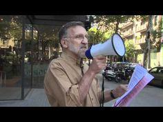 Evento MSF ante la sede de Novartis en Barcelona - 12 de julio de 2012