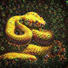 From a photo taken in a visit to the Zoológico La Aurora in  Guatemala City. Modified with dreamscopeapp.  #dreamscope #reptile #snake #psychedelic #trippy #neuralnetwork #eyes #guatemala #dmt #lysergic #beauty #natural #fromphoto #yellow #animal #nature #beautiful#zoo #trip #hallucinations #digitalart #art #high #parlocablo #visionary #visionaryart #thc #madness  #magic #deepdream