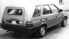 Skoda Favorit Kombi Prototype Seat Cupra, Vw Group, Shooting Brake, Concept Cars, Cars And Motorcycles, Vehicles, Motorbikes, Automobile, Antique Cars