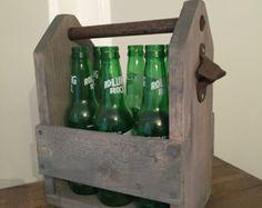 Carrito de madera cerveza #2 - mancha gris