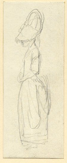 George Romney sketch from The British Museum, 1734-1802