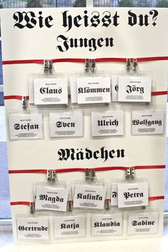 We should total do German name tags!!!