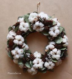 Cotton wreath - Cotton Bowl!!