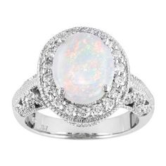 The Most Beautiful Opal Engagement Rings