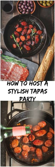 All you need to know to throw a successful wine and tapas party!