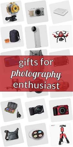 Are you looking for a present for a photograpy lover? Stop searching! Read our huge article of gifts for phtographers. We show you cool gift ideas for photographers which are going to make them happy. Getting gifts for photographers doenst need to be difficult. And dont have to be expensive. #giftsforphotographyenthusiast Cute Messy Buns, Gifts For Photographers, Popsugar, Cool Gifts, Searching, Entertaining, Gift Ideas, Happy, Shopping