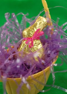 Doll Food Large Chocolate Easter Bunny Arrives Wrapped in Gold Foil and Ribbon Ready to Unwrap  American Girl  on Etsy.