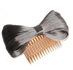 Fashion Hair Extension Bow Bowknot Comb Clip Hairpiece Black and Brown by whatstart. $4.99. Brand New. synthetic fiber KANEKALON. Our wigs are 100% made of top synthetic fiber KANEKALON. It is the best fiber yarn wig currently in the market, very close to real human hair in terms of physical properties, appearance, color and feeling. As the highest quality synthetic fiber,KANEKALON is silky-soft, easy to manipulate, easy to brush, and highly realistic. Hair care: the attac...