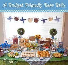 Budget Friendly Teddy Bear Bash Birthday Party