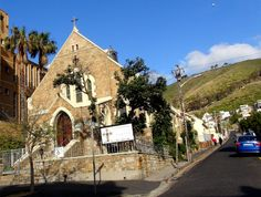 Sea Point Methodist Church with Signal Hill in the background Signal Hill, Virgin Atlantic, Homeland, Cape Town, Barcelona Cathedral, Touring, Cry, Worship, South Africa