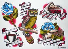 Twin Peaks tattoo ideas...