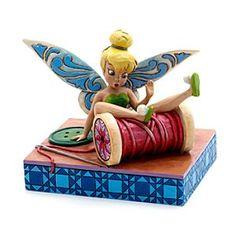 Jim Shore Disney Traditions - Fallende Fee Tinkerbell Figur