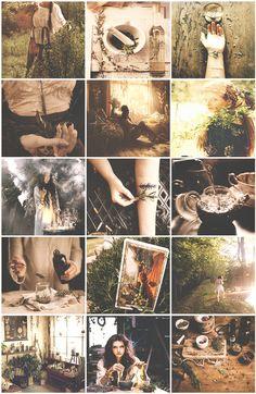 healer witch aesthetic, boho, and magic image