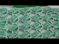 Easy Crochet Stitches, Crochet Square Patterns, Stitch Patterns, Crochet Videos, Diy For Kids, Knitting, Easy Youtube, Tutorial Crochet, Diy Crafts