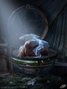 6th artwork of my series, The Dancer Stocks by : Box :www.deviantart.com/art/Dancer-… Photo : hauntingvisionsstock.deviantar… Mirror texture : mirrorimagestock.deviantart....