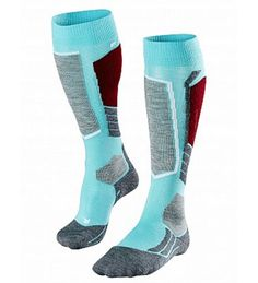 Falke Womens SK2 Ski Socks | Merino Wool Blend Medium Volume