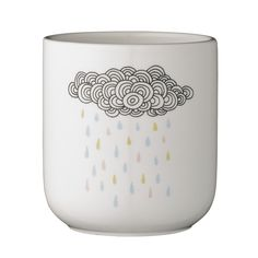 cache-pot Rainfall design Bloomingville - Deco Graphic