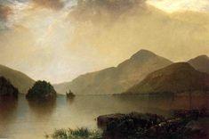 John Frederick Kensett >> Lake George 1