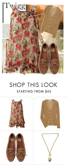 """""""Spring:))))))"""" by genovefa1567 ❤ liked on Polyvore featuring Magdalena, Obakki, Vanessa Bruno, Bass Weejuns and Chanel"""