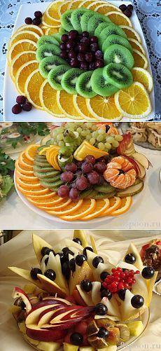Красивая нарезка фруктов: идеи с фото для вдохновения! | 8 Ложек
