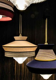 The best lighting inspirations for your interior design project. Be surprised by this suspension lamps Lighting Deco Luminaire, Luminaire Design, Lamp Design, Cool Lighting, Modern Lighting, Lighting Design, Pendant Chandelier, Pendant Lighting, I Love Lamp