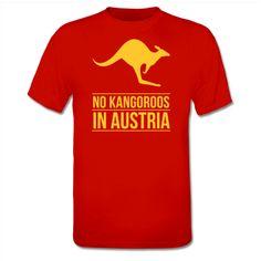 No Kangaroos in Austria Dames t-shirt