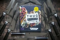 Thug Kitchen is giving away some badass kitchen knives and you know you could use an upgrade.  Visit http://www.thugkitchen.com/cookbook_contest     For Rules and Entry #NewYearNewGear