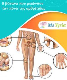 8 βότανα που μειώνουν τον πόνο της αρθρίτιδας  Θέλετε να #μάθετε πώς να μειώσετε τον πόνο της #αρθρίτιδας; #ΦυσικέςΘεραπείες Healing, Herbs, Gym, Herb, Excercise, Gymnastics Room, Gym Room, Medicinal Plants