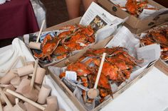 """Learning to pick crabs was easier than it looks. First you pull off the fins and claws down to the body. There isnt any """"meat"""" as it called in the fins, but plenty meat into the hind claws."""