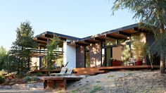 Midcentury-inspired California home is an indoor-outdoor dream - Curbedclockmenumore-arrow : Designed by Klopf Architecture