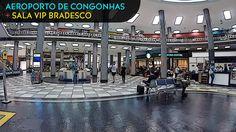Aeroporto de Congonhas SP e Sala VIP Bradesco