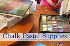 Chalk pastel supplie