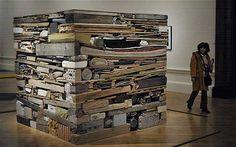 Tony Cragg - Stack BP Walk through British Art, Tate Britain Feb 2014