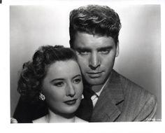 Barbara Stanwyck and Burt Lancaster