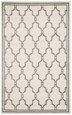 Vienna Ivory & Grey Indoor/Outdoor Area Rug