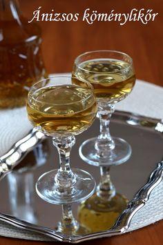 Hankka: Ánizsos köménylikőr Cocktail Drinks, Recipies, Food And Drink, Cooking Recipes, Vodka, Tableware, Levek, Liqueurs, Smoothie