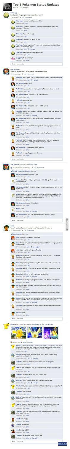 Pokemon Level Facebook