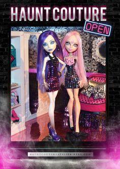 Monster Doll Disco Mini Dress by HauntCoutureAtelier on Etsy